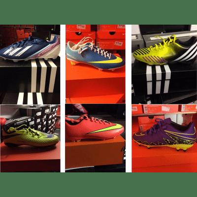 Fussballschuhe, Soccer Schuhe, Stollenschuhe, Markenschuhe