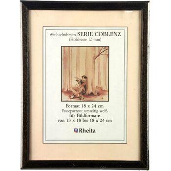 28-182400, Holz Bilderrahmen Coblenz 18 x 24 cm,