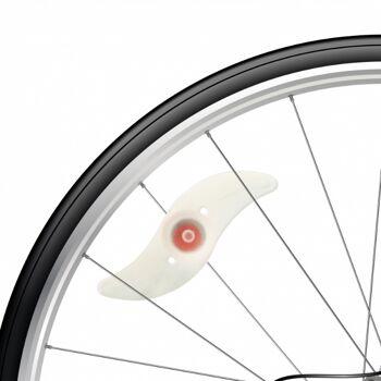 10-597010, Fahrrad - LED Speichenlichter 2er Set, mit 3 Funktionen