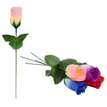 27-10536, Rosenknospe 24 cm, Kunstblume, Seidenblume