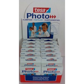 12-1700001, Tesa Fotoklebepads  doppelseitig klebend