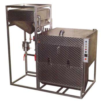 Automatische Siebwaschanlage TSW 90/6 programmierbare Vierstufensteuerung