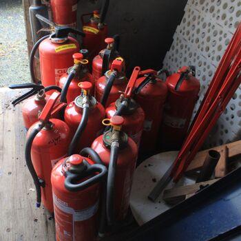 Feuerloescher Uebungsgeraete gebraucht abgelaufen