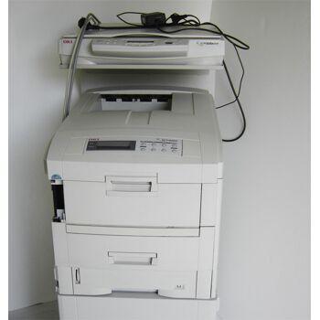 OKI C7400 Farblaser Drucker A4 Multifunktionsgeraet Defekt Ersatzteilspender