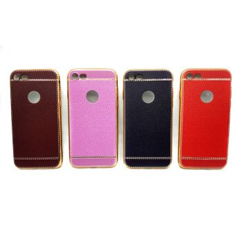 Iphone 6 Case TPU Silikon Leder Design Hülle
