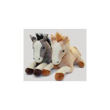 06-5112, Plüsch Pferd, 54cm, liegend, Plüschpferd, Plüschtier