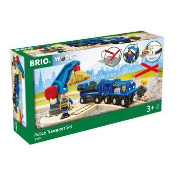 BRIO Polizei Goldtransport-Set