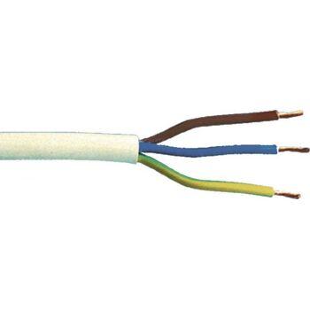 Ku- Leitung 3X1,0, 10m Weiss