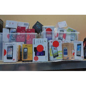50 verschiedene Retoure Handy´s wie Medion, Samsung, LG, Huawei,Primo für Export