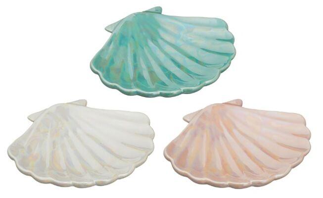 17-52266, Seifenschale Muschel aus Dolomit, Seifenablage