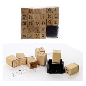 17-60955, Holz Stempelset