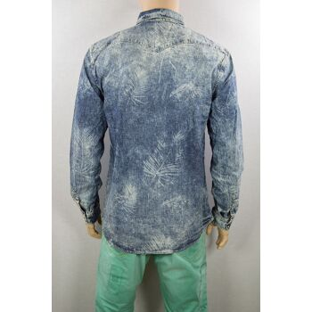 Jack & Jones Adam Shirt Slim BL270 Gr.XL Medium Blue Denim Hemd Hemden 1-1189