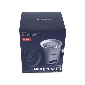 Bluetooth Speaker MU-101 mit LCD Display