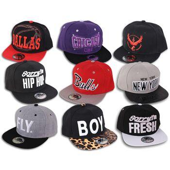 Mixposten Basecap Cappy Cap Caps Kappe Rapper Hip Hop Party Trucker Skate Unisex - 1,79 Euro