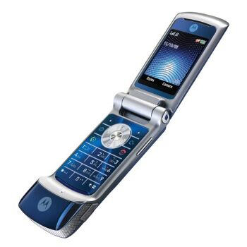 Motorola KRZR K1 Unlocked Phone with 2 MP Camera, MP3/Video Player,
