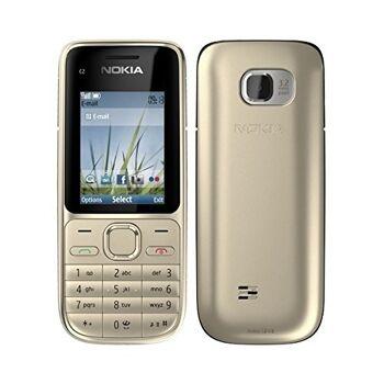 Nokia C2-01 Silver, Silber, Black und andere Farben möglich Handy