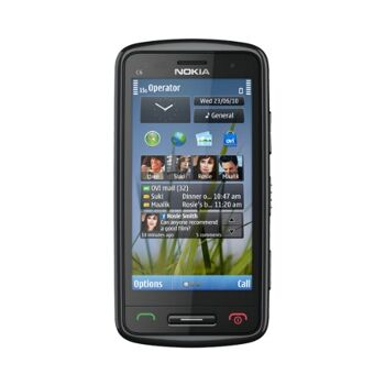Nokia C6  Full slide out QWERTY Ovi Maps 3.2 INCH 640 x 360 (nHD) Resistive touch screen