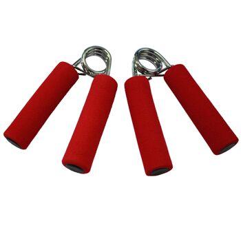Fingertrainer in verschiedenen Stärken: 2 x Stufe Medium oder 2 x Stufe Hard