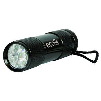 ecolle 9 LED Taschenlampe im 20er Verkaufsdisplay
