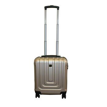 Ecolle Pilotenkoffer gold ABS + TSA Schloss