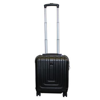 Ecolle Pilotenkoffer schwarz ABS + TSA Schloss
