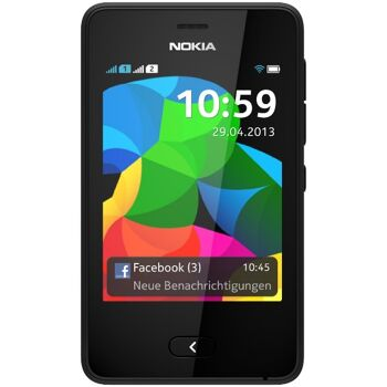 Nokia Asha 501/502/503 Smartphone Touchscreen, 3,2 - 5 Megapixel  Dual Sim/Single Sim Whatsapp