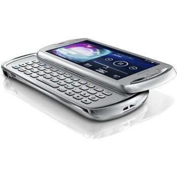 Sony Ericsson Xperia mk16i pro Smartphone (9.4 cm (3.7 Zoll) Tochscreen, 8.1 Megapixel Kamera, Android) silber, rot, schwarz