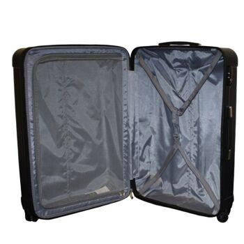 Ecolle Kofferset 2 tlg. gold ABS + TSA Schloss
