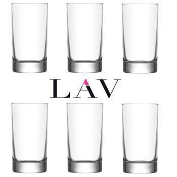 LAV Wasserglas 6er 150cc