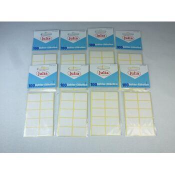 12-A90220, Gefrieretiketten  100er Pack, weiss, selbstklebend, schockfrostsicher, Gefrier Etiketten  +++++++++