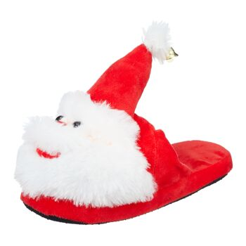 17-63906, Hausschuhe, Weihnachtsmann, 3 Größen, Erwachsene