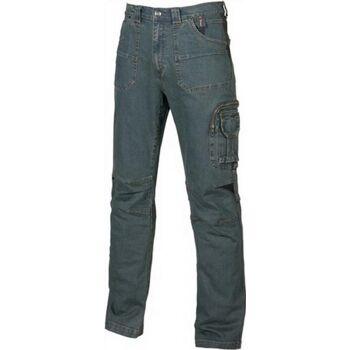 Jeans Traffic Gr.48 blau EN 340-1