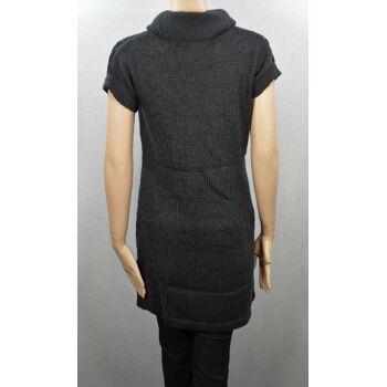 Sandwich Damen gestrickte Kleid Strick Kleider Strickkleid Damen Kleid 3-47