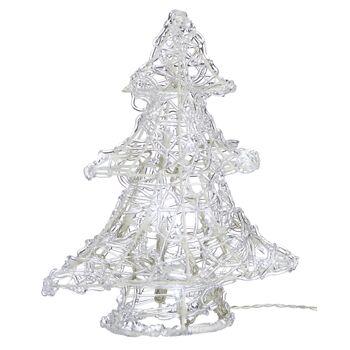 17-34271, Deko Tannenbaum mit 16 LED, 24 cm, Weihnachtsbaum, LED Licht