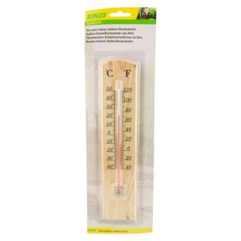 28-085623, Thermometer Holz 36 cm, für Innen und Aussen+++++
