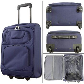 28-295090, Trolley-Kofferset 3er Set, BLAU