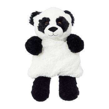 17-44073, Kirschkernkissen, Panda 31 cm