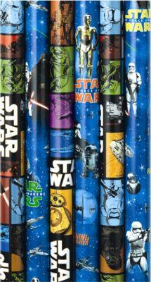 12-33K538H8169, Disney STAR WARS Offset -Geschenkpapier 200 x 70 cm+++++