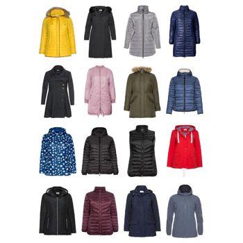 Damen Übergrößen Mode Plus Size Jacken Blazer Mantel Große Größen Restposten Mix