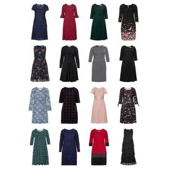 Damen Übergrößen Mode Plus Size Kleider Große Größen Restposten Mix Großhandel