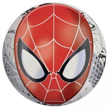 Spiderman Buntball Glow in the dark, 23cm, 10 Stück