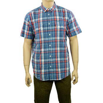 Wrangler Herren Hemden 2PKT Flap Shirt Hemd Wrangler Hemden Shirts 28101500