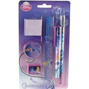 12-CI12664, Schreibset 6-teilig, Disney Cinderella
