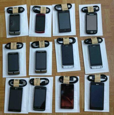 Restposten aus Apple, Asus, Blackberry,  Sony, Nokia, Samsung Smartphone