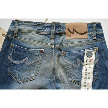 LTB Flare Fit Damen Jeans Hose W28L34 Marken Jeans Hosen 18051400