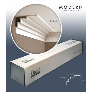 Orac Decor C393 MODERN 1 Karton SET mit 7 Eckleisten Zierleisten | 14 m