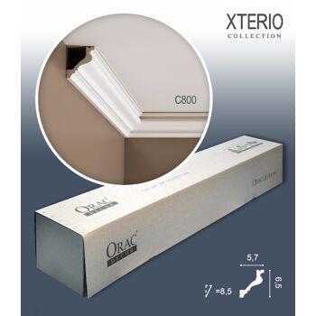 Orac Decor C800 XTERIO 1 Karton SET mit 10 Eckleisten Zierleisten | 20 m