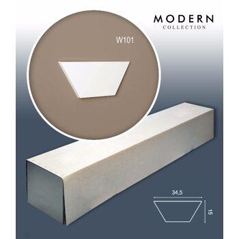 Orac Decor W101 MODERN 1 Karton SET mit 10 Wandpaneelen Zierelementen   0,52 m2