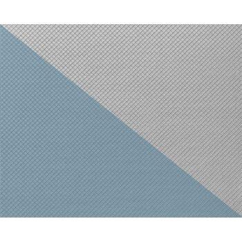 EDEM 330-60 1 Kart 4 Rollen Vlies-Tapete geometrische netz-struktur überstreichbar weiß   106 qm