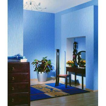 EDEM 373-60 1 Kart 4 Rollen XXL Vliestapete dekorative gestreifte struktur zum Überstreichen weiß | 106 qm